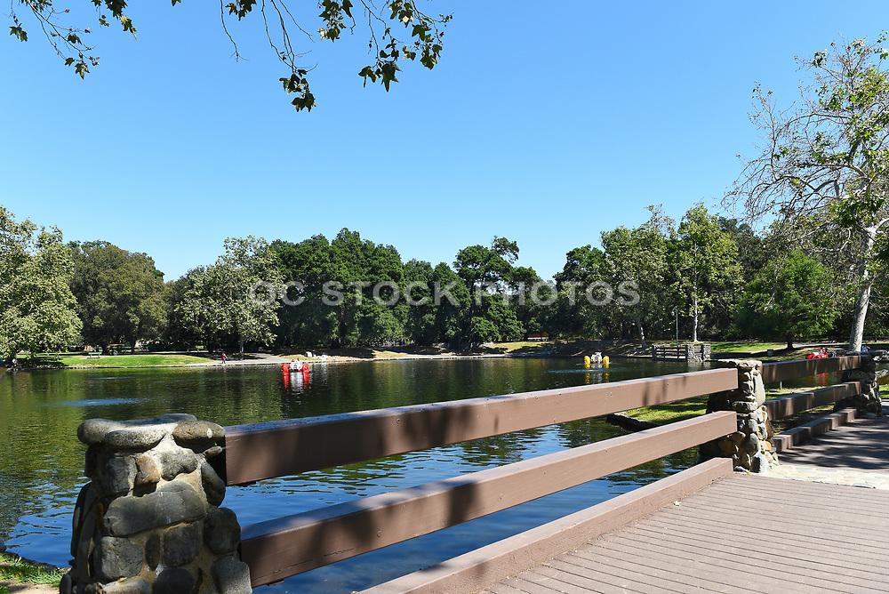 Paddle Wheelers on the Lake at Irvine Regional Park