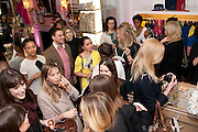 Juicy Couture and Fifi Lapin - masquerade Ball<br /> Juicy Couture, 27 Bruton Street, London,  7 March 2012