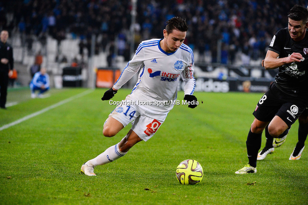 Florian THAUVIN - 07.12.2014 - Marseille / Metz - 17eme journee de Ligue 1 -<br />