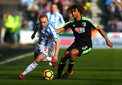 Alex Pritchard of Huddersfield Town goes past Nathan Ake of Bournemouth - Mandatory by-line: Robbie Stephenson/JMP - 11/02/2018 - FOOTBALL - The John Smith's Stadium - Huddersfield, England - Huddersfield Town v Bournemouth - Premier League
