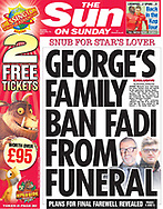 GEORGE'S FAMILY BAN FADI FROM FUNERAL