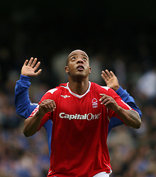 LONDON, ENGLAND - Sunday, January 28, 2007: Nottingham Forest's Junior Agogo during the FA Cup 4th Round match at Stamford Bridge. Chelsea won 3-0. (Pic by Chris Ratcliffe/Propaganda)