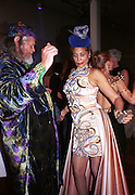 Marquess of Bath, Trudi Sharma dancing. Mr. and Mrs. Andy Wong Chinese Year of the Dragon. Millenium Dome. 29/1/2000.<br />