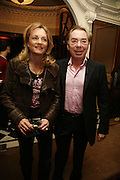 Lord Andrew Lloyd Webber and Madeline Lloyd Webber. Dirty Dancing ,premiere: Aldwych Theatre, 49 Aldwych, London, WC2,24 October 2006. -DO NOT ARCHIVE-© Copyright Photograph by Dafydd Jones 66 Stockwell Park Rd. London SW9 0DA Tel 020 7733 0108 www.dafjones.com
