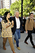 Sept. 10, 2014 - New York City, NY, United States - <br /> <br /> Richard Branson out in New York<br /> <br /> Businessman Richard Branson walks with friends in Tribeca on September 10 2014 in New York City <br /> ©Exclusivepix