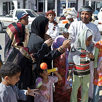 Ibra, Sultanate of Oman - 26 November 2008.Women market..Photo: EZEQUIEL SCAGNETTI.