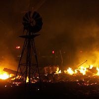 Cross Plains burns