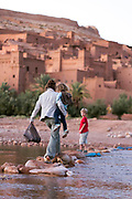 Ait BenHaddou ksar, Ouarzazate, Morocco Morocco, 2015-10-29. <br />