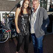 NLD/Amsterdam/20120919- Inloop Nick & Simon Live concert Carre, Kirsten Hofstee en manager Jaap Buys