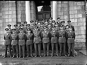 1958 - 23/09 Army Officers for Lebanon at GHQ