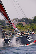 BMW Oracle and Alinghi at the UBS Trophy