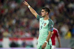 September 3, 2017 - Budapest, Hungary - Andre Silva of Portugal during the FIFA World Cup 2018 Qualifying Round match between Hungary and Portugal at Groupama Arena in Budapest, Hungary on September 3, 2017  (Credit Image: © Andrew Surma/NurPhoto via ZUMA Press)