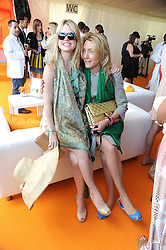 Left to right, ALICE EVE and DIXIE CHASSAY at the 2008 Veuve Clicquot Gold Cup polo final at Cowdray Park Polo Club, Midhurst, West Sussex on 20th July 2008.<br /> <br /> NON EXCLUSIVE - WORLD RIGHTS