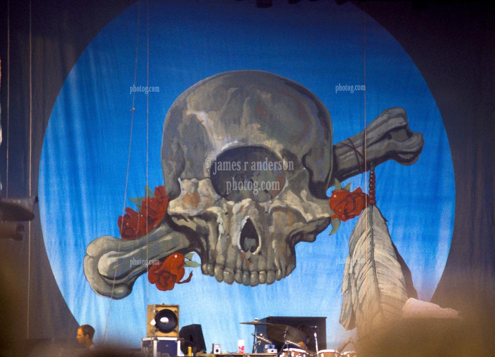 Terrapin Banner, hoisted for the Grateful Dead Concert at Raceway Park Englishtown NJ on 3 September 1977 Labor Day Weekend