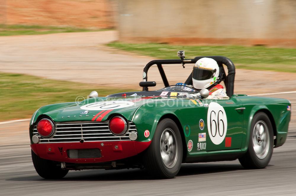 #66 '62 Triumph TR4: Warren Aplin
