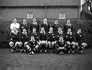 Irish Rugby Football Union, Ireland v New Zealand, Tour Match, Landsdowne Road, Dublin, Ireland, Saturday 9th January, 1954,.9.1.1954, 1.9.1954,..Referee- DR P F Cooper, Rugby Union,..Score- Ireland 3 - 14 New Zealand,..New Zealand Team,..R W H Scott, Wearing number 1 New Zealand Jersey, Full back, Auckland Rugby Football Club, Auckland, New Zealand, ..R A Jarden, Wearing number 2 New Zealand Jersey, Left wing, Wellington Rugby Football Club, Wellington, New Zealand, ..C J Loader, Wearing number 3 New Zealand Jersey, Centre, Wellington Rugby Football Club, Wellington, New Zealand, ..B B J FItzpatrick, Wearing number 5 New Zealand Jersey, Second 5/8, Wellington Rugby Football Club, Wellington, New Zealand, ..M J Dixon, Wearing number 4 New Zealand Jersey, Right wing, Canterbury Rugby Football Club, Christchurch, New Zealand, ..R G Bowers, Wearing number 6 New Zealand Jersey, First 5/8, Wellington Rugby Football Club, Wellington, New Zealand, ..Or, ..L S Haig, Wearing number 6 New Zealand Jersey, First 5/8, Otago Rugby Football Club, Otago Region, New Zealand, ..K Davis, Wearing number 7 New Zealand Jersey, Half back, Auckland Rugby Football Club, Auckland, New Zealand, ..H L White, Wearing number 13 New Zealand Jersey, Forward, Auckland Rugby Football Club, Auckland, New Zealand, ..R C Hemi, Wearing number 14 New Zealand Jersey, Forward, Waikato Rugby Football Club, Waikato, New Zealand, ..L K Skinner, Wearing number 15 New Zealand Jersey, Forward, Otago Rugby Football Club, Otago Region, New Zealand, ..W H Clark, Wearing number 9 New Zealand Jersey, Forward, Wellington Rugby Football Club, Wellington, New Zealand, ..R A White, Wearing number 10 New Zealand Jersey, Forward, Poverty Bay Rugby Football Club, Poverty Bay, New Zealand, ..G N Dalzell, Wearing number 11 New Zealand Jersey, Forward, Canterbury Rugby Football Club, Christchurch, New Zealand,..D O Oliver, Wearing number 12 New Zealand Jersey, Forward, Otago Rugby Football Club, Otago Region, New Zealand,..R C