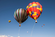 The annual Snowmass Balloon Festival in Snowmass, Colorado.