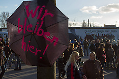 MAR 03 2013 Berlin Wall Protests