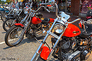 Antique Bikes on Main Street Chesnee 2018