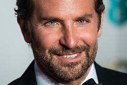 Bradley Cooper attending 72nd British Academy Film Awards, Arrivals, Royal Albert Hall, London. 10th February 2019