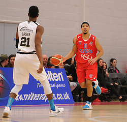 Greg Streete of Bristol Flyers - Mandatory byline: Dougie Allward/JMP - 06/02/2016 - FOOTBALL - SGS Wise Campus - Bristol, England - Bristol Flyers v Newcastle Eagles - British Basketball League