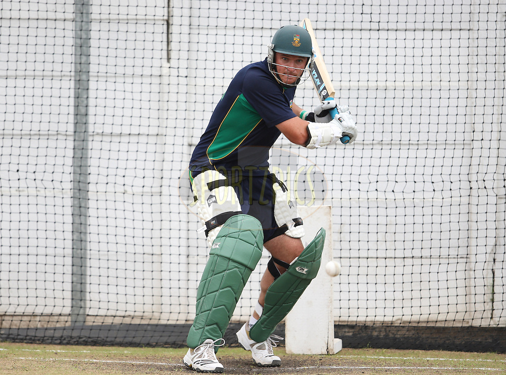 Graeme Smith capt during the South Africa and India team practice sessions held at Kingsmead Stadium in Durban on the 10 January 2011 ( The 1st ODI between South Africa and India is due to be held at Kingsmead Stadium on the 12th January 2011 )..Photo by Steve Haag/BCCI/SPORTZPICS