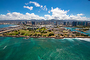 Kakaako Gateway Park, Honolulu, Oahu, Hawaii