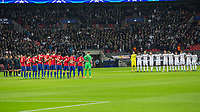 Football - 2016 / 2017 UEFA Champions League - Group E: Tottenham Hotspur vs. CSKA Moscow <br /> <br /> Both teams observe a minute silence for the Chapocoense players  at Wembley.<br /> <br /> COLORSPORT/DANIEL BEARHAM