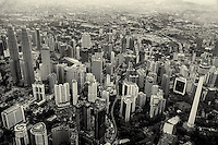The Malaysian Capital in Monochrome