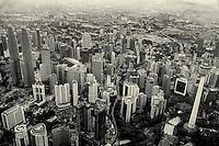 The Malaysian Capital in Monochrome
