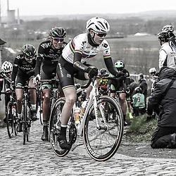 25-02-2017: Wielrennen: Omloop Het Nieuwsblad: Gent  <br /> Amelie Diederiksen, Moniek Tenniglo