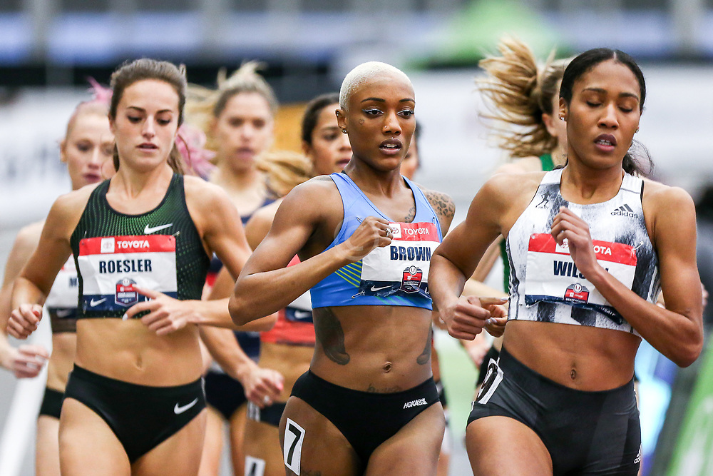 USATF Indoor Track and Field Championships<br /> held at Ocean Breeze Athletic Complex in Staten Island, New York on February 22-24, 2019; , adidas,  HOKA One One, NJ*NYTC,