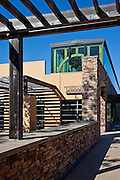 Johnson Family Library at Sage Hill High School in Newport Coast