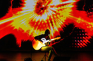 Kaki King performs at The Triple Door in Seattle, WA on Monday, April 6, 2015.