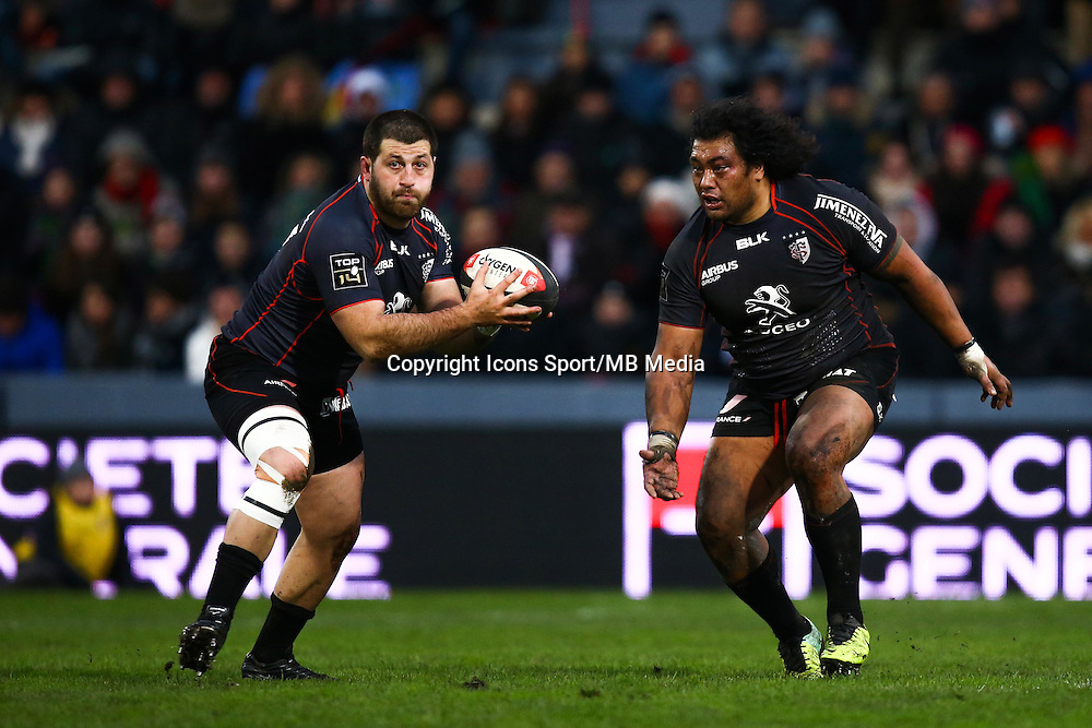 Vasil Kakovin - 28.12.2014 - Toulouse / Racing Metro - 14eme journee de Top 14 <br />