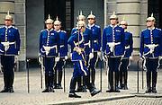 Royal Palace, changing of the guard.