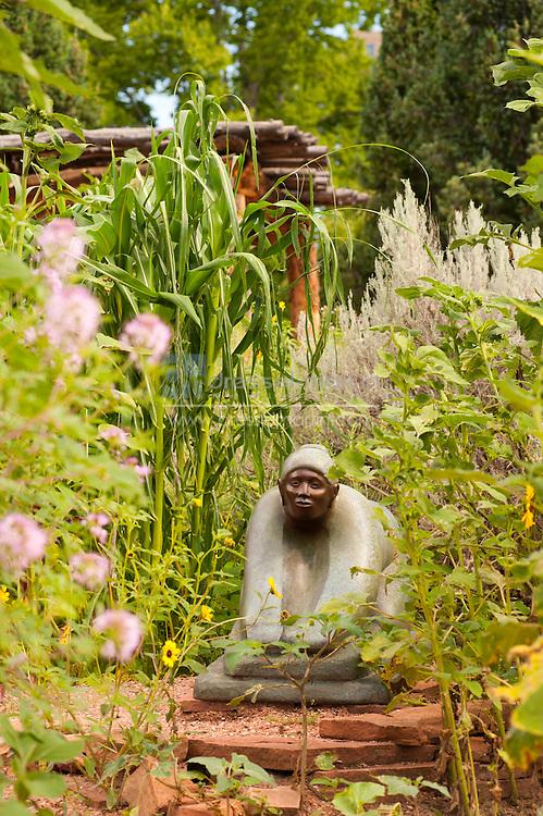 houser exhibit, Sacred Earth Garden