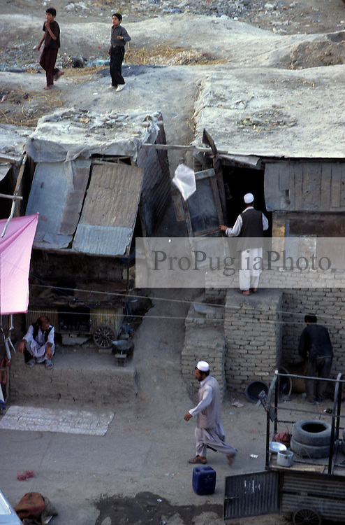 KABUL, daily life in Jada-Mawand's district