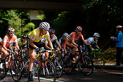 Roxane Knetemann (Rabo Liv) attacks on the Cauberg as she looks to defend the mountains jersey at the 119 km Stage 6 of the Boels Ladies Tour 2016 on 4th September 2016 from Bunde to Valkenburg, Netherlands. (Photo by Sean Robinson/Velofocus).
