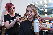 RUSK hair products featured at Nolcha Fashion Week New York Fall-Winter 2014. Nolcha Fashion Week New York is a leading award winning event, held during New York Fashion Week, for independent fashion designers to showcase their collections to a global audience of press, retailers, stylists and industry influencers. Over the past six years Nolcha Fashion Week: New York has established itself as a platform of discovery promoting innovative fashion designers through runway shows and exhibition. Nolcha Fashion Week: New York has built an acclaimed reputation as a hot incubator of new fashion design talent and is officially listed by New York City Economic Development Corporation; offering a range of cost effective options to increase designers recognition and develop their business. (Photo: www.JeffreyHolmes.com)