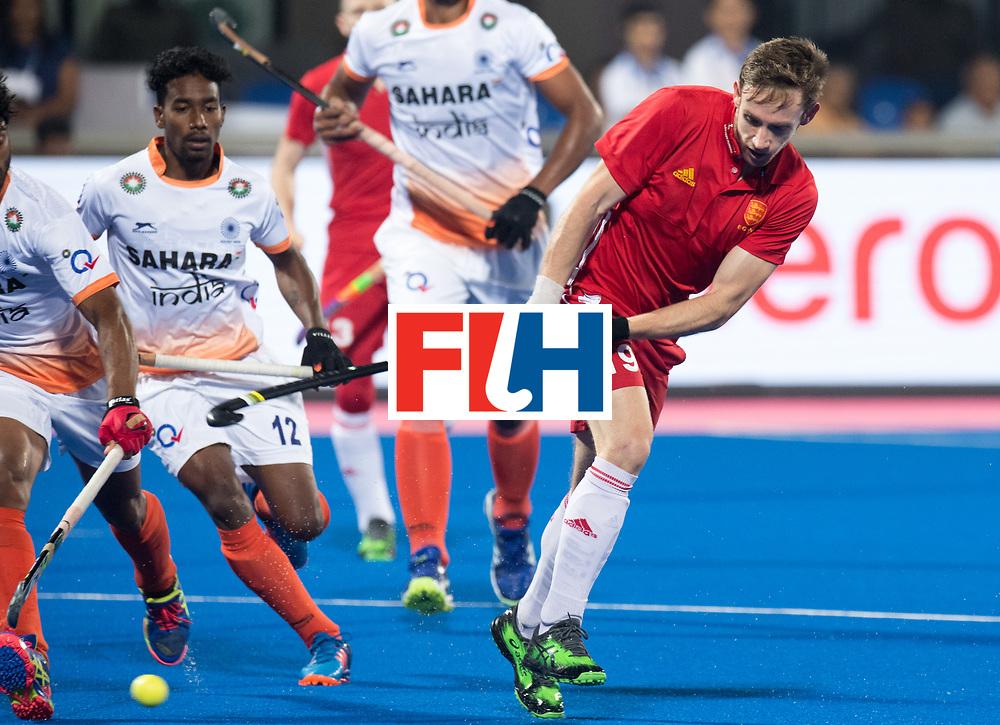 Odisha Men's Hockey World League Final Bhubaneswar 2017<br /> Match id:05<br /> 06 IND v ENG (Pool B)<br /> Foto: David Goodfield (Eng)  <br /> WORLDSPORTPICS COPYRIGHT FRANK UIJLENBROEK