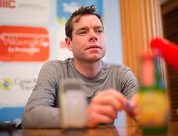 15.04.2013, Lieburg, Lienz, AUT, Giro del Trentino, Pressekonferenz, im Bild Cadel Evans // during a press conference of the Giro del Trentino at the Lieburg, Lienz, Austria on 2013/04/15. EXPA Pictures © 2013, PhotoCredit: EXPA/ Johann Groder