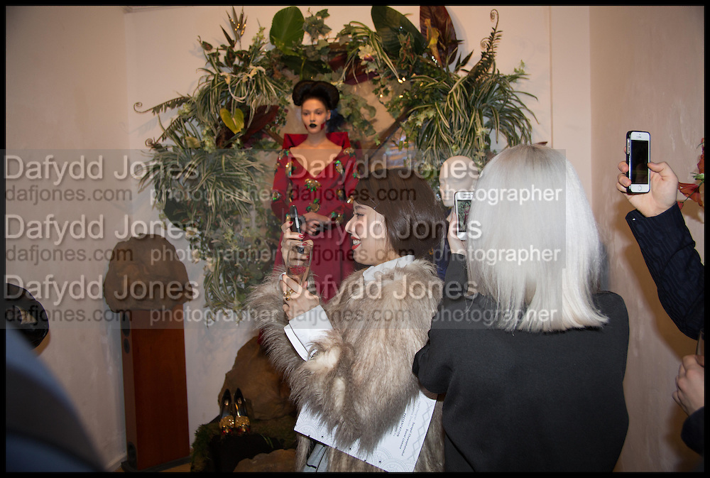 Sorapol Ollin Atelier and Pret a Porter Presentation. Strand Gallery.  32 john Adam St. WC2. London. 20 February 2015