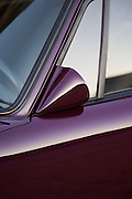 Image of a wing mirror on a 1973 Porsche 911 RS/GT, Orange County, California