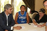 Milano, 18/07/2007<br /> Basket, Nazionale Italiana Maschile Senior<br /> Media Day Conferenza Stampa Hotel Visconti<br /> Nella foto: Marco Belinelli<br /> Foto Ciamillo