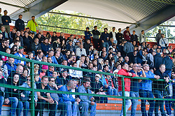 Fans during football match between NS Mura and NK Maribor in 10th Round of Prva liga Telekom Slovenije 2018/19, on September 30, 2018 in Mestni stadion Fazanerija, Murska Sobota, Slovenia. Photo by Mario Horvat / Sportida