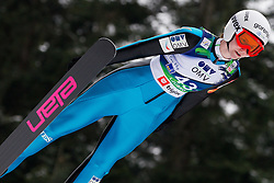 Katja Pozun of Slovenia during Normal Hill Individual Competition at FIS World Cup Ski jumping Ladies Ljubno 2012, on February 11, 2012 in Ljubno ob Savinji, Slovenia. (Photo By Vid Ponikvar / Sportida.com)