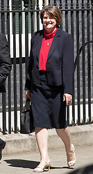 © Licensed to London News Pictures. 02/07/2018. London, UK. DUP Leader Arlene Foster arrives in Downing Street for talks with Prime Minister Theresa May. Photo credit: Peter Macdiarmid/LNP