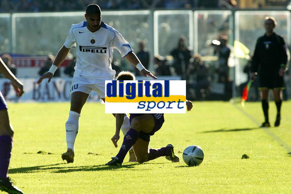 Firenze 07-11-2004<br />Campionato  Serie A Tim 2004-2005<br />Fiorentina Inter<br />nella  foto Jorgensen<br />Foto Snapshot / Graffiti