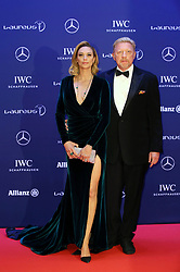 April 18, 2016 - Berlin, Berlin, Deutschland - Boris Becker and his wife Lilly Becker attending the 17th Laureus World Sports Awards 2016 at Messe Berlin on April 18, 2016 in Berlin, Germany. (Credit Image: © Future-Image via ZUMA Press)